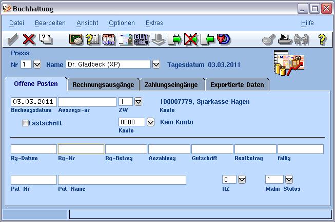 Verwaltung VISIdent - BDV Branchen-Daten-Verarbeitung